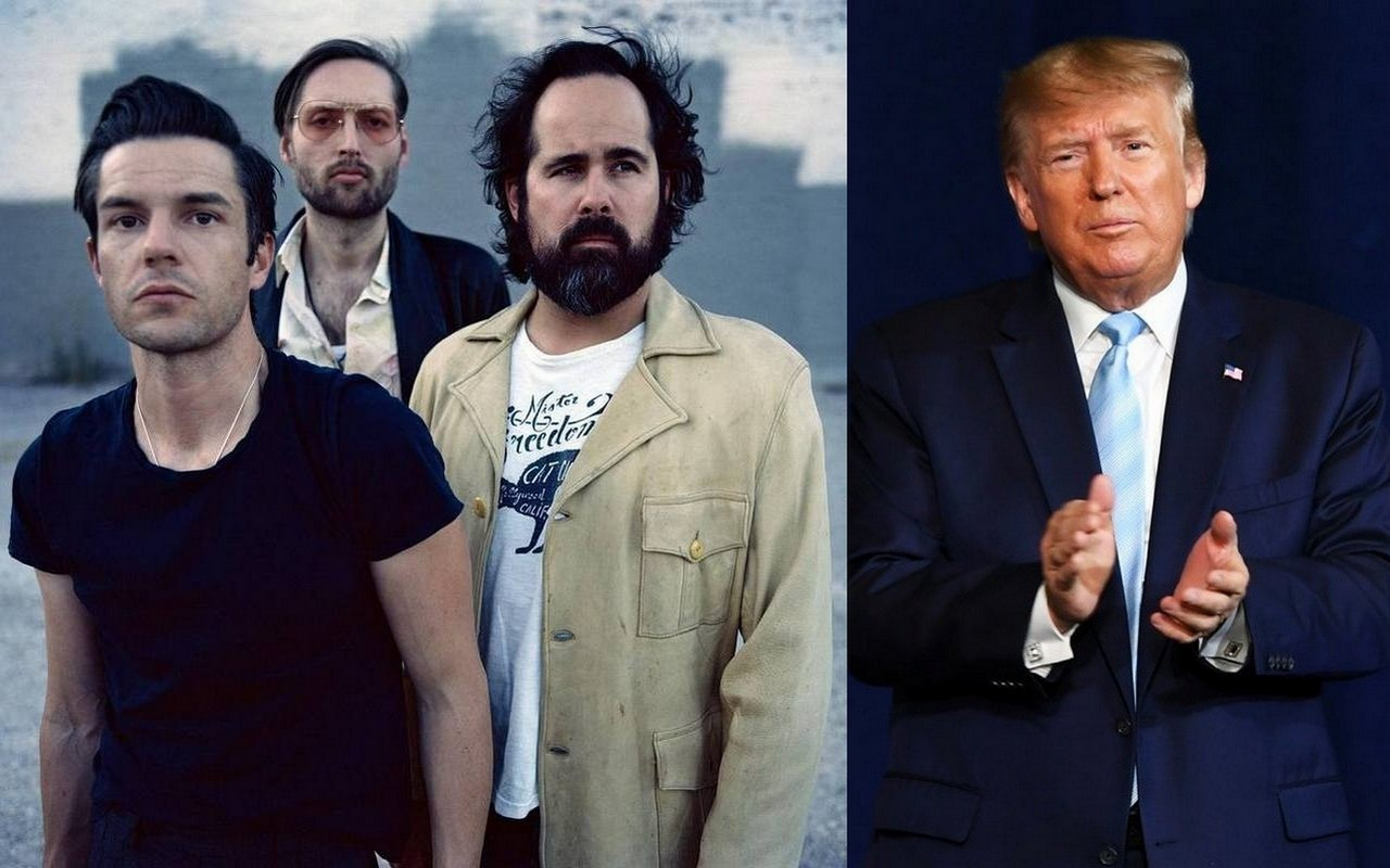 The Killers Channel Donald Trump as They React to 2021 Grammy Nomination Snub