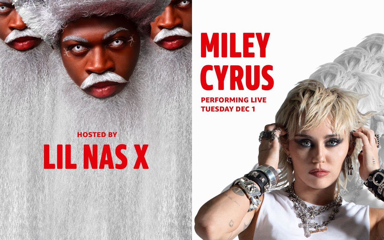 Lil Nas X and Miley Cyrus to Stage Holiday Concert Specials for Amazon Music