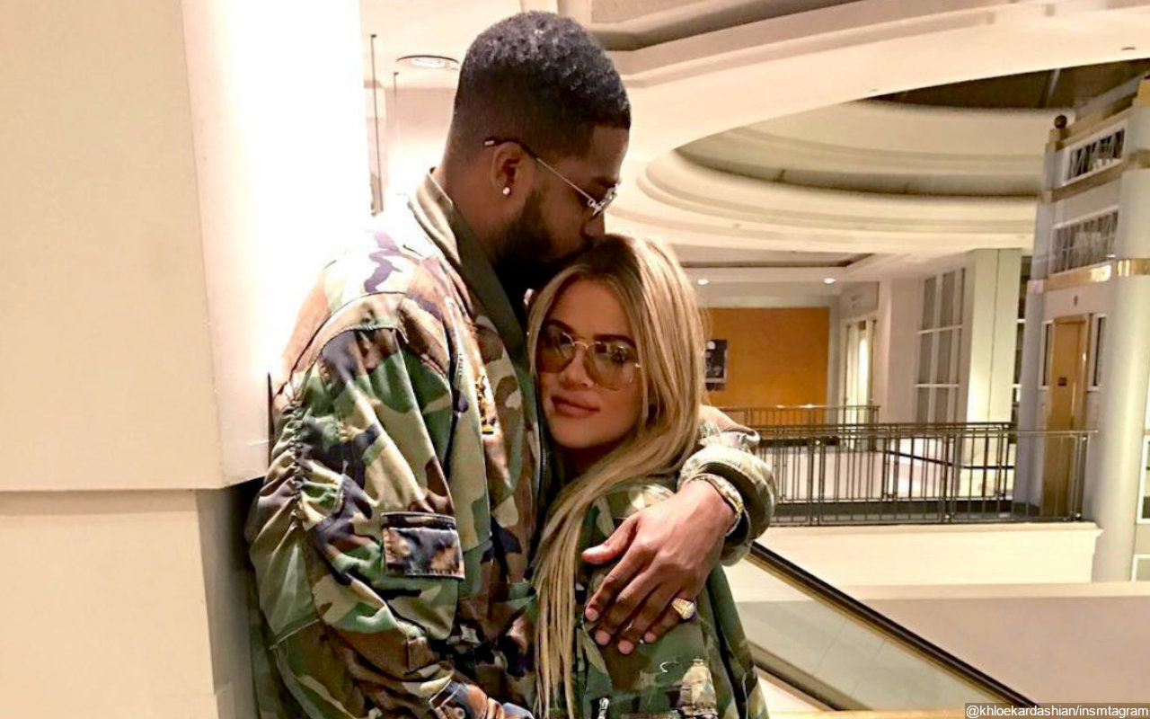 Khloe Kardashian's Huge Diamond Ring Is Indeed From Tristan Thompson