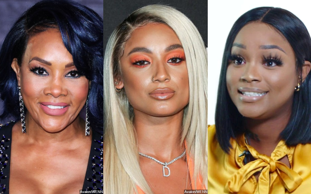 Vivica A. Fox Thinks DaniLeigh's 'Yellow Bone' Is for DaBaby's Baby Mama