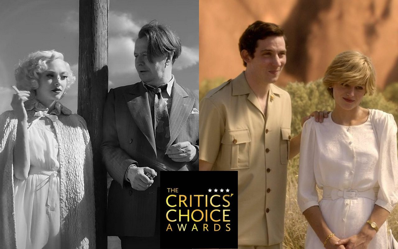 'Mank' and 'The Crown' Lead Nominations at 2021 Critics Choice Awards