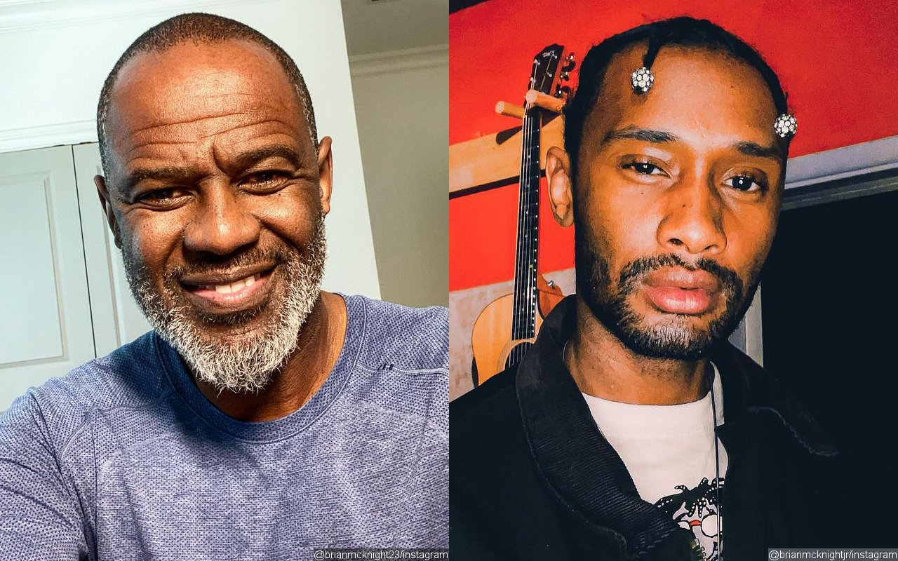 Brian McKnight Blasted by His Son