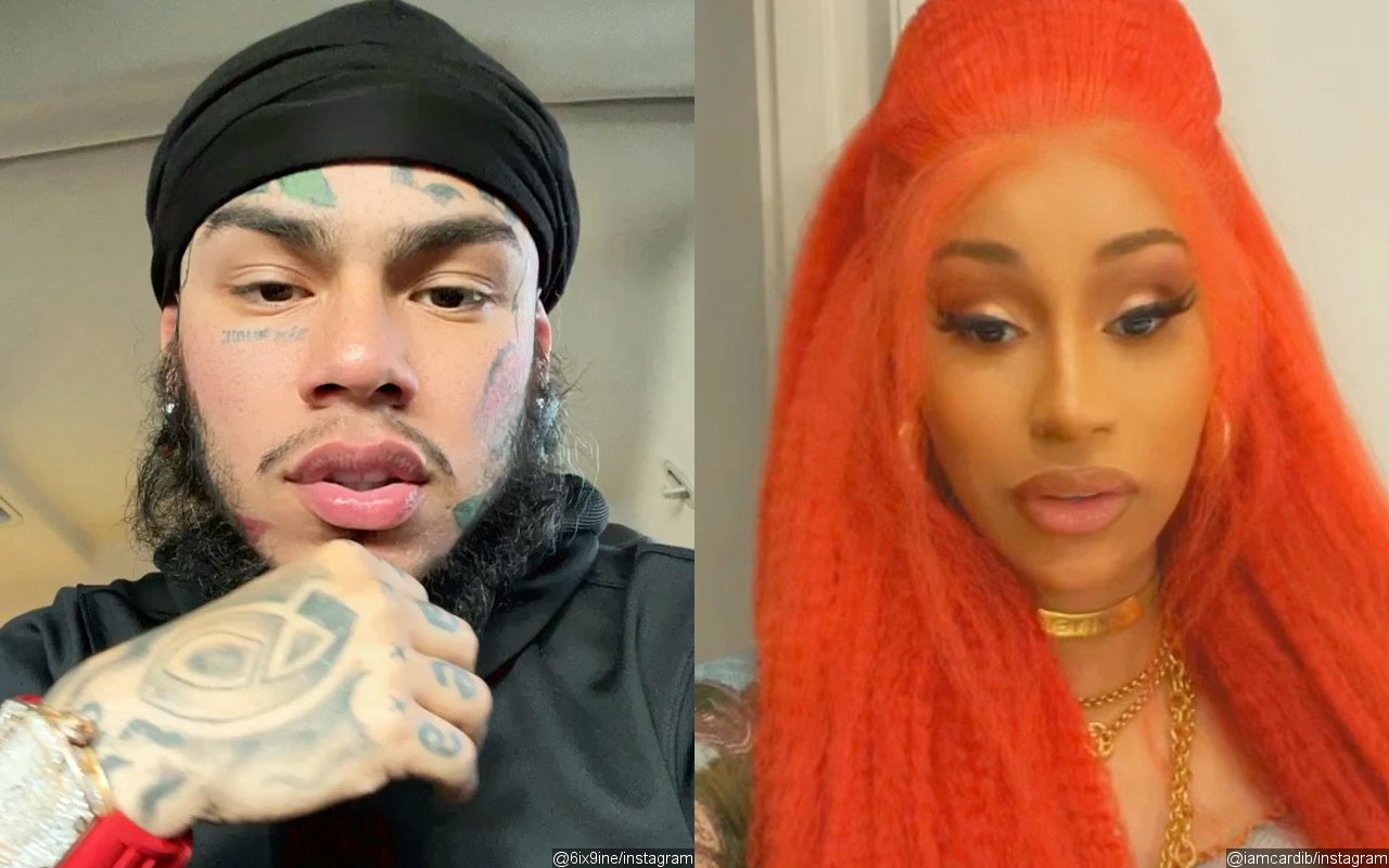 6ix9ine Shades Cardi B Over Drugging and Robbing Scandal
