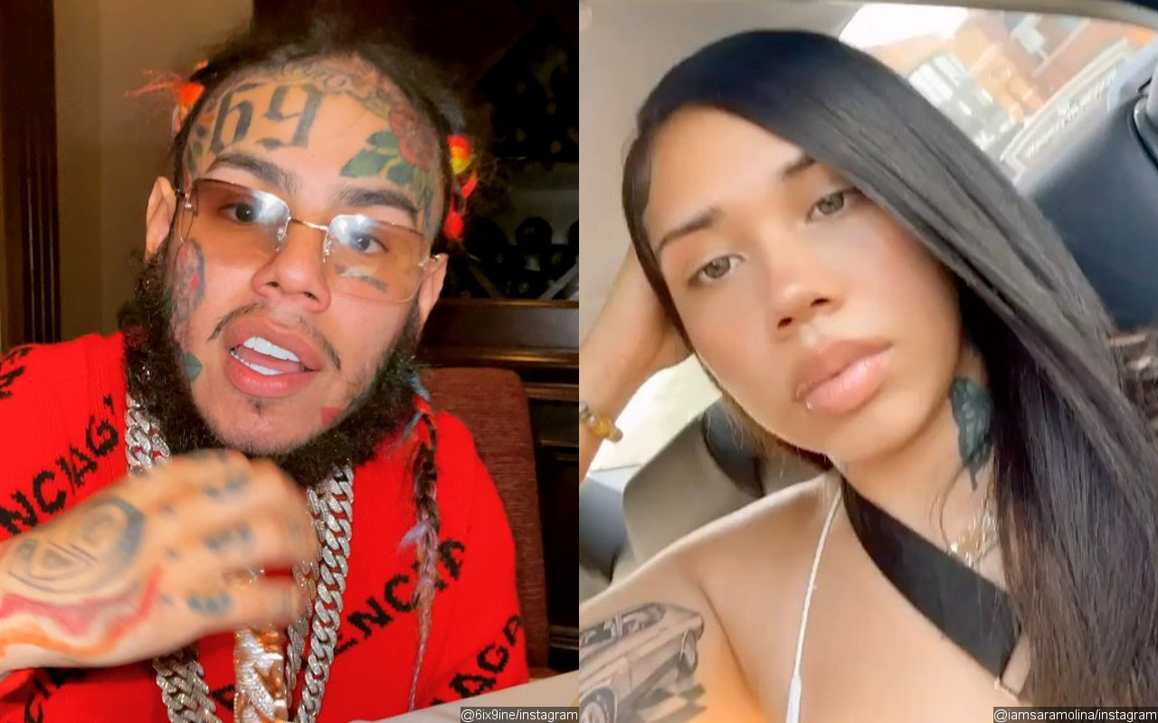 6ix9ine's Ex Sara Molina Rips Him for Refusing to 'Protect' Daughter From 'Threats'