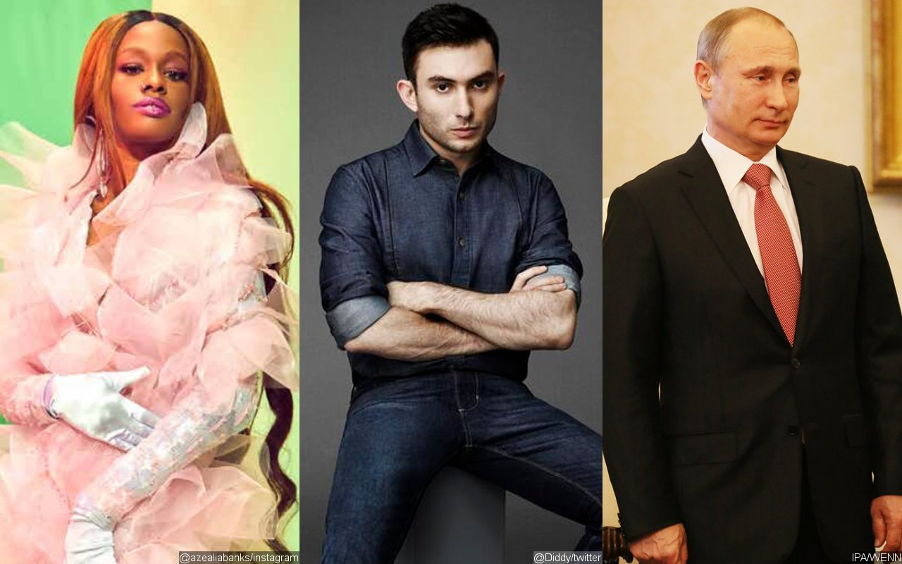 Azealia Banks Hints at Ryder Ripps Reconciliation, Declares Love for Vladimir Putin
