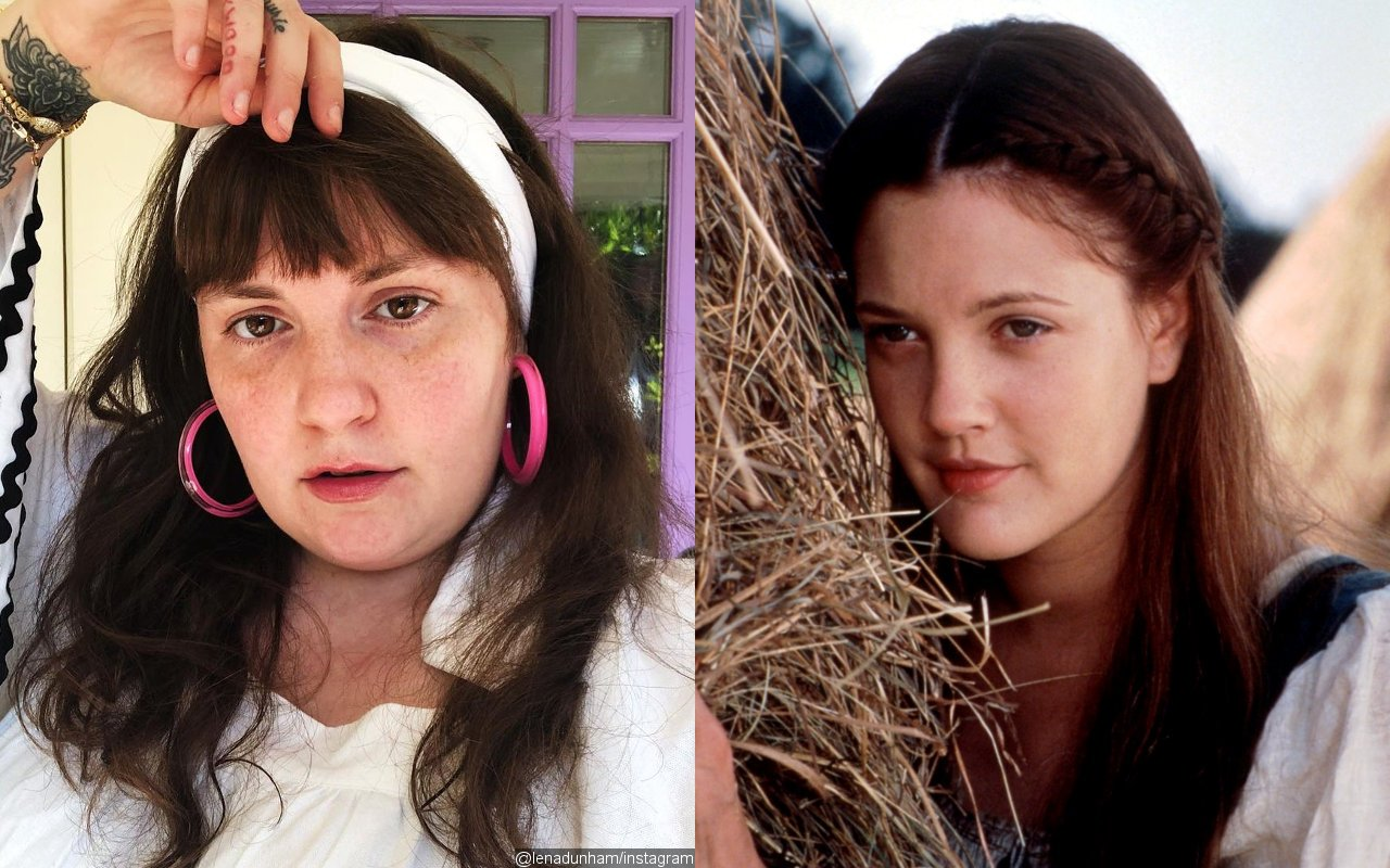 Lena Dunham Draws Inspiration for 'Catherine, Called Birdy' From Drew Barrymore's 'Ever After'