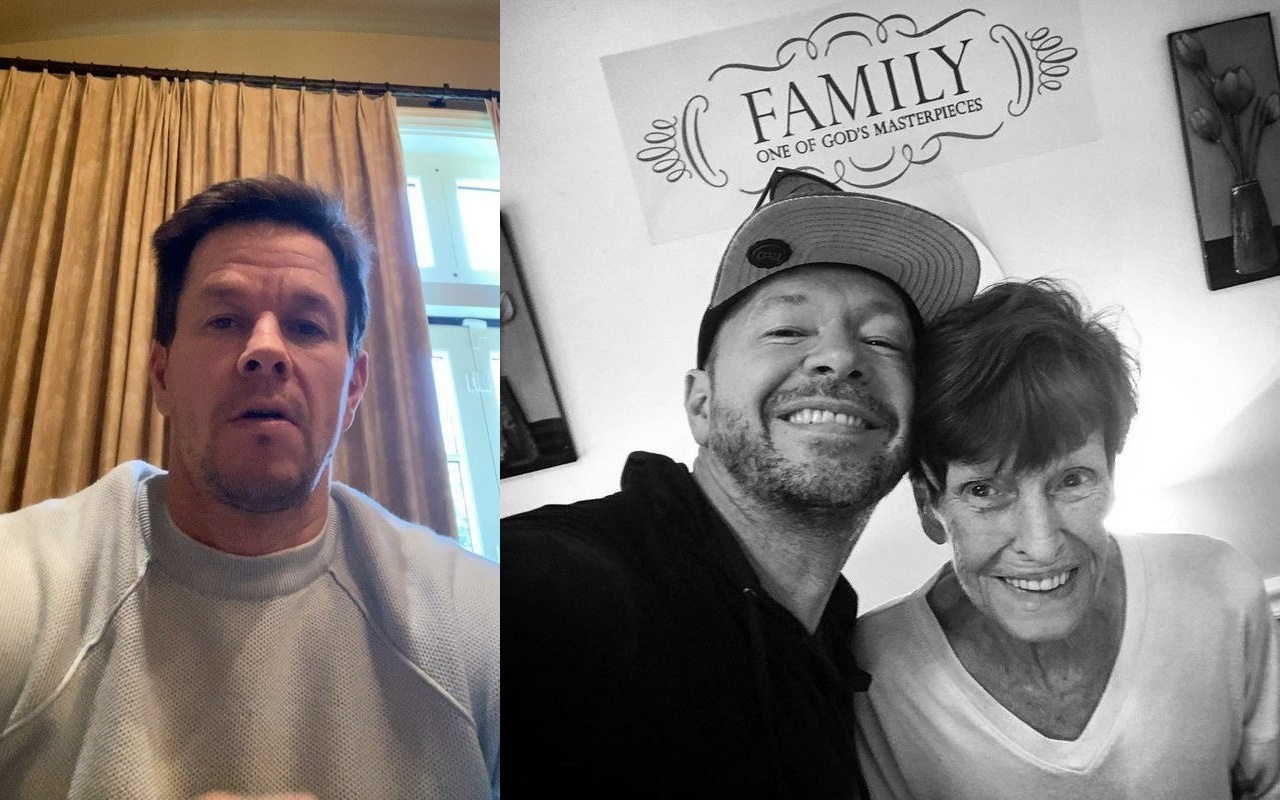 Mark Wahlberg and Brother Donnie Mourning the Loss of Their Mother