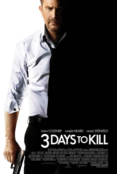'Three Days to Kill' Movie Prize Pack Giveaway