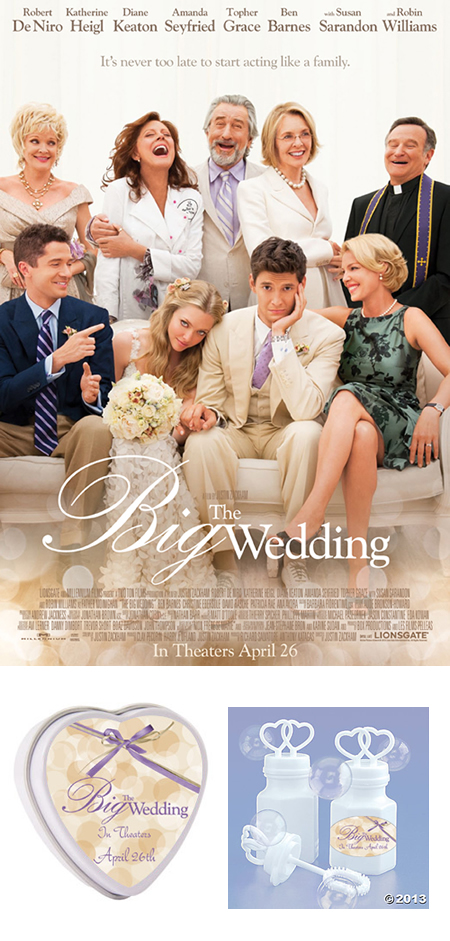 The Big Wedding Movie Prize Pack Giveaway