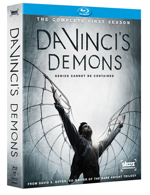Da Vinci's Demons: The Complete First Season Blu-ray Giveaway