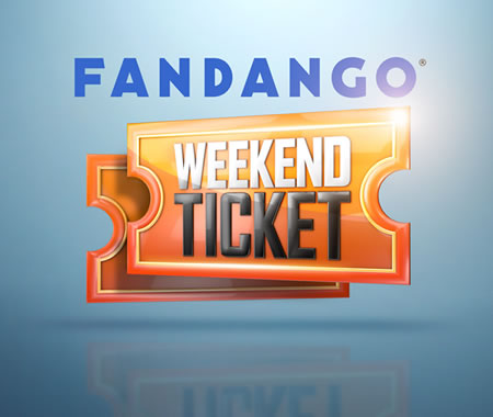 Fandango Weekend Ticket Giveaway