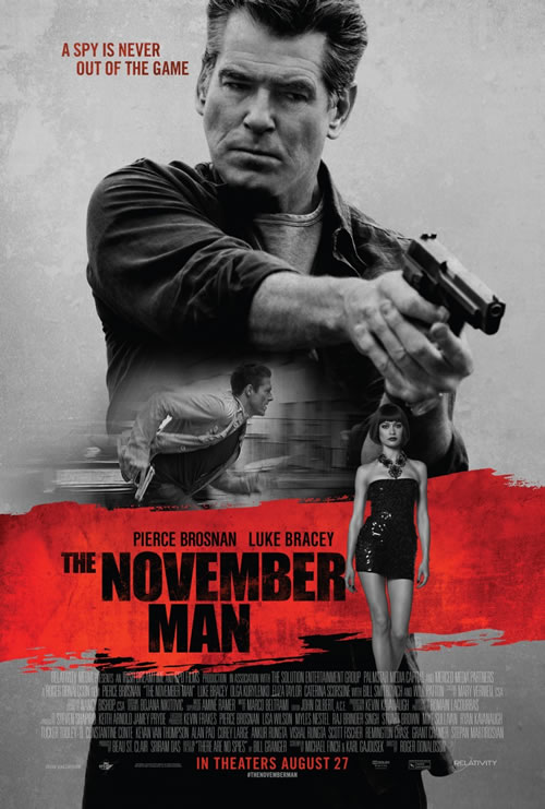 The November Man Movie Prize Pack Giveaway
