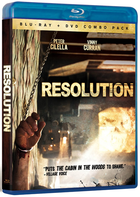 RESOLUTION Blu-ray Giveaway