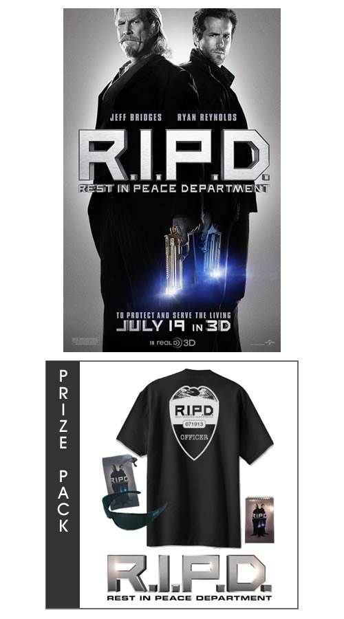 R.I.P.D. Movie Prize Pack Giveaway