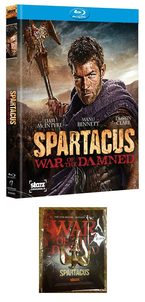 Spartacus: War of The Damned Blu-ray Giveaway