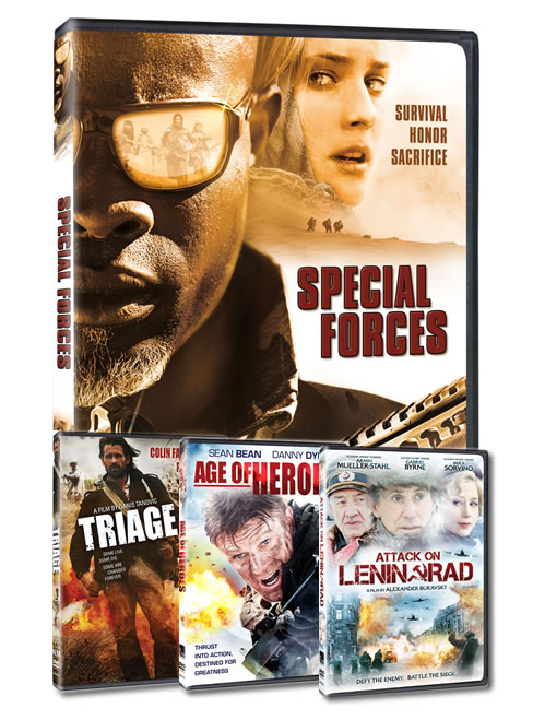 Action Film Prize Pack