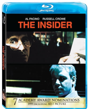 'The Insider' Blu-ray Giveaway