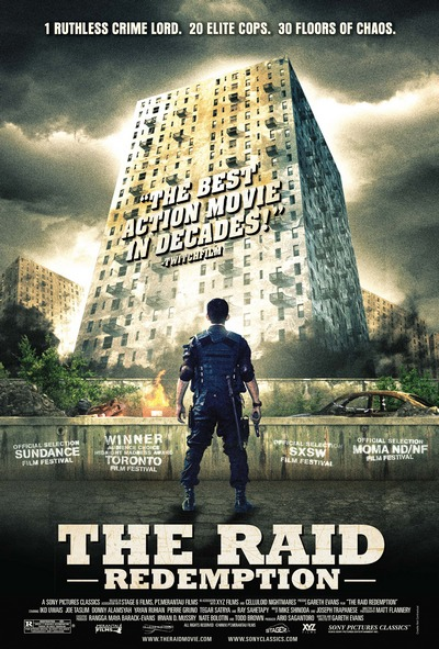 'THE RAID: REDEMPTION' Signed Poster Giveaway