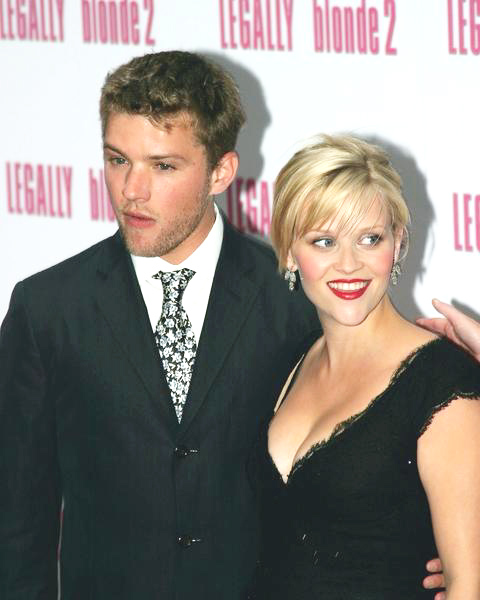 Ryan Phillippe, Reese Witherspoon in Legally Blonde 2 Movie Premiere