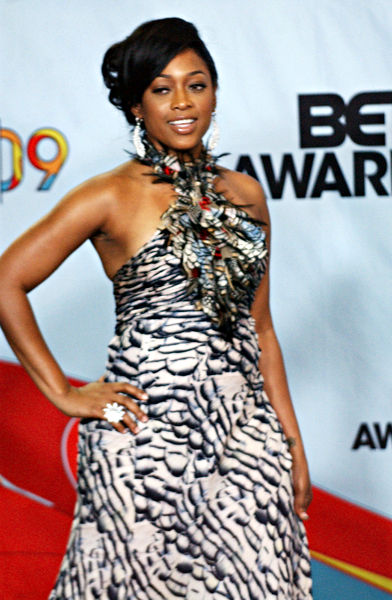 Trina<br>2009 BET Awards - Press Room