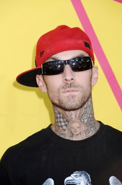 Travis Barker<br>2008 MTV Video Music Awards - Arrivals