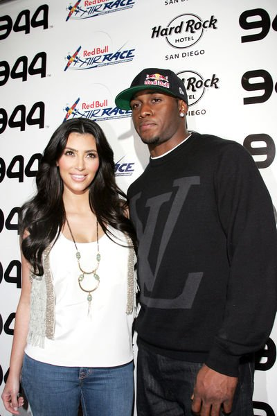 Kim Kardashian, Reggie Bush<br>Red Bull Airshow After Party - Red Carpet Arrivals