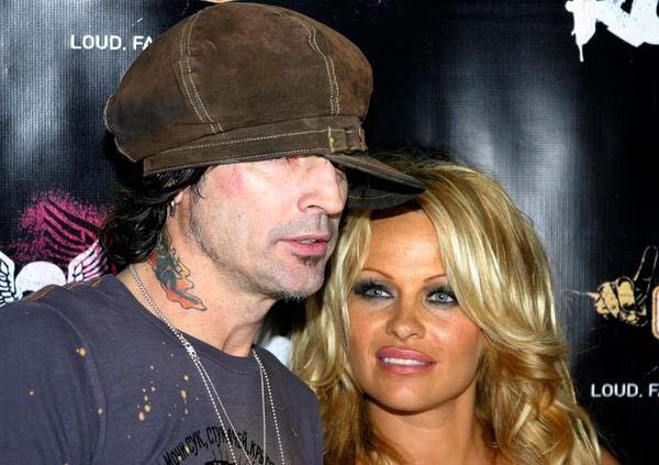 Pamela Anderson, Tommy Lee<br>Rokbar Hollywood Launch Party