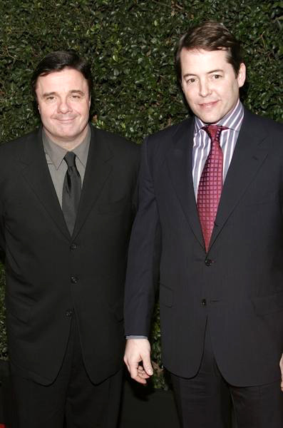 Matthew Broderick, Nathan Lane<br>The Producers World Premiere