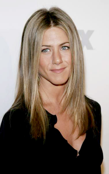 Brad Pitt look-alike, British model Paul Sculfor, Jennifer Aniston