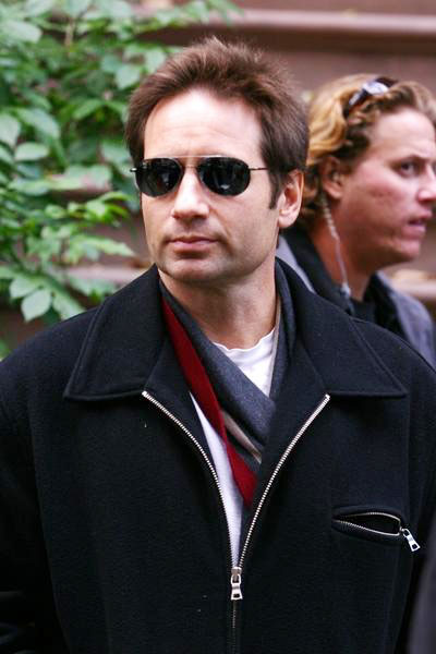 David Duchovny<br>Trust the Man Movie Taping