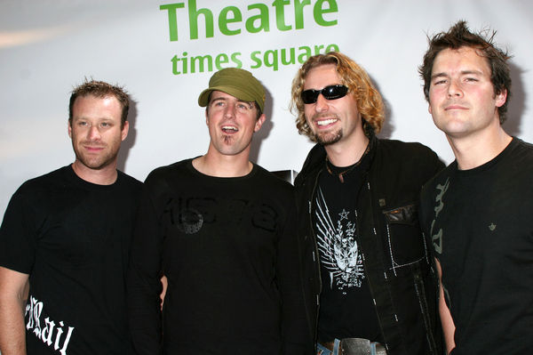 Nickelback<br>Nokia and MTV Live Music Series Celebrate the Move to Times Square