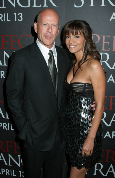 Halle Berry, Bruce Willis<br>Perfect Stranger Movie Premiere in New York