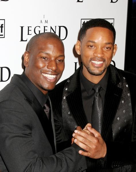"Tyrese Gibson, Will Smith in ""I Am Legend"" New York Premiere - Arrivals"