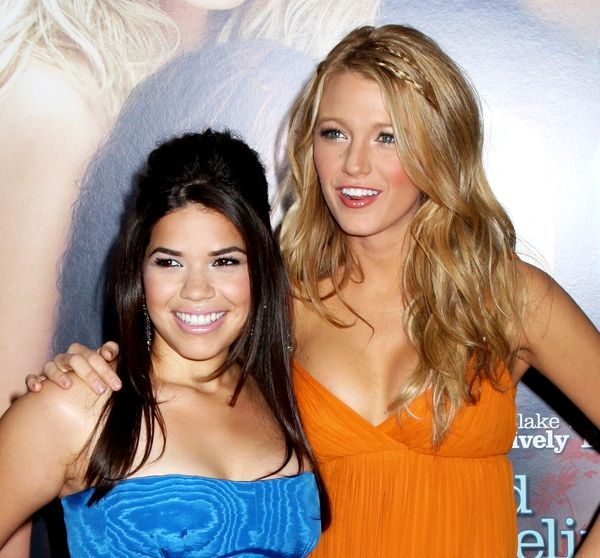 "America Ferrera, Blake Lively in ""The Sisterhood of the Traveling Pants 2"""