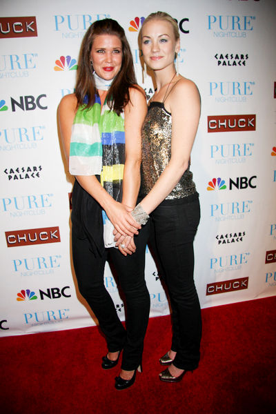 "NBC's ""Chuck"" Season 2 Launch Party - Arrivals"