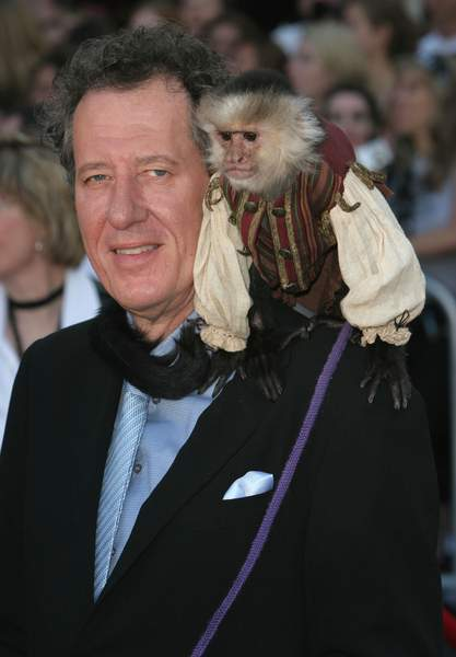 Geoffrey Rush<br>PIRATES OF THE CARIBBEAN: AT WORLD'S END World Premiere