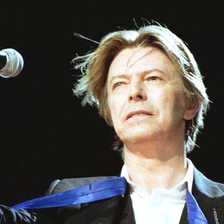 David Bowie in David Bowie 2002 Concert Tour