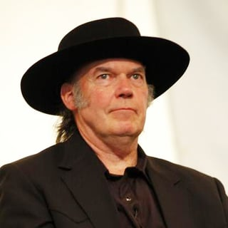 Neil Young in Farm Aid 2005