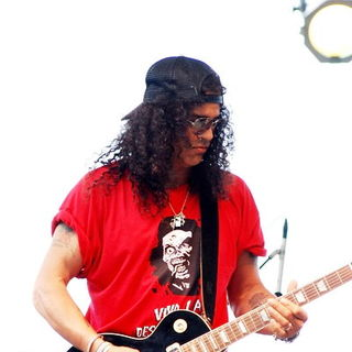 Slash in Lollapalooza 2008 Day 3