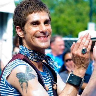Perry Farrell in Lollapalooza 2008 Day 3
