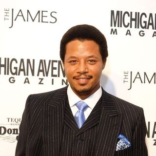 Terrence Howard in Niche Media Michigan Avenue Launch Party hosted by Cindy Crawford at The James Hotel in Chicago