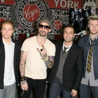 Backstreet Boys in Backstreet Boys Unbreakable CD Signing