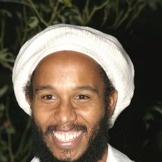 Ziggy Marley in Shark Tale Premiere