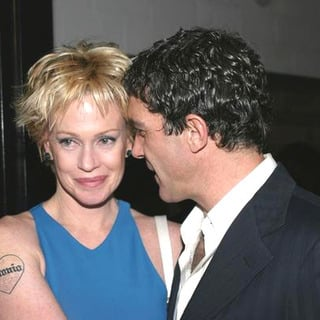 Melanie Griffith, Antonio Banderas in 48th Annual Drama Desk Awards