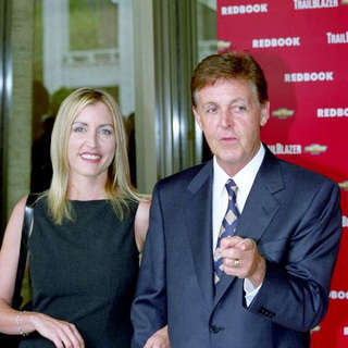 Paul McCartney, Heather Mills in Redbook's Mother & Shakers Award