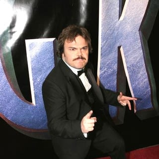Jack Black in King Kong New York World Premiere - Outside Arrivals