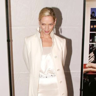 Uma Thurman - The Producers New York City Movie Premiere - Inside Arrivals