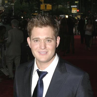 Michael Buble in The Devil Wears Prada New York Premiere - Arrivals