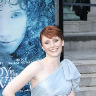 Bryce Dallas Howard in Lady In The Water New York Premiere
