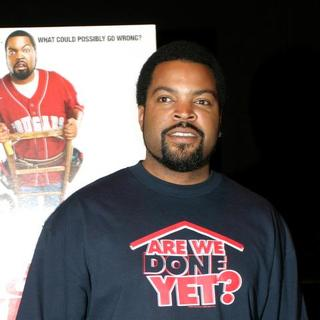 Ice Cube in Are We Done Yet Movie Premiere at the Apollo Theater